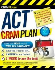 CliffsNotes ACT Cram Plan, 3rd Edition by Jane R. Burstein, Nichole Vivion...