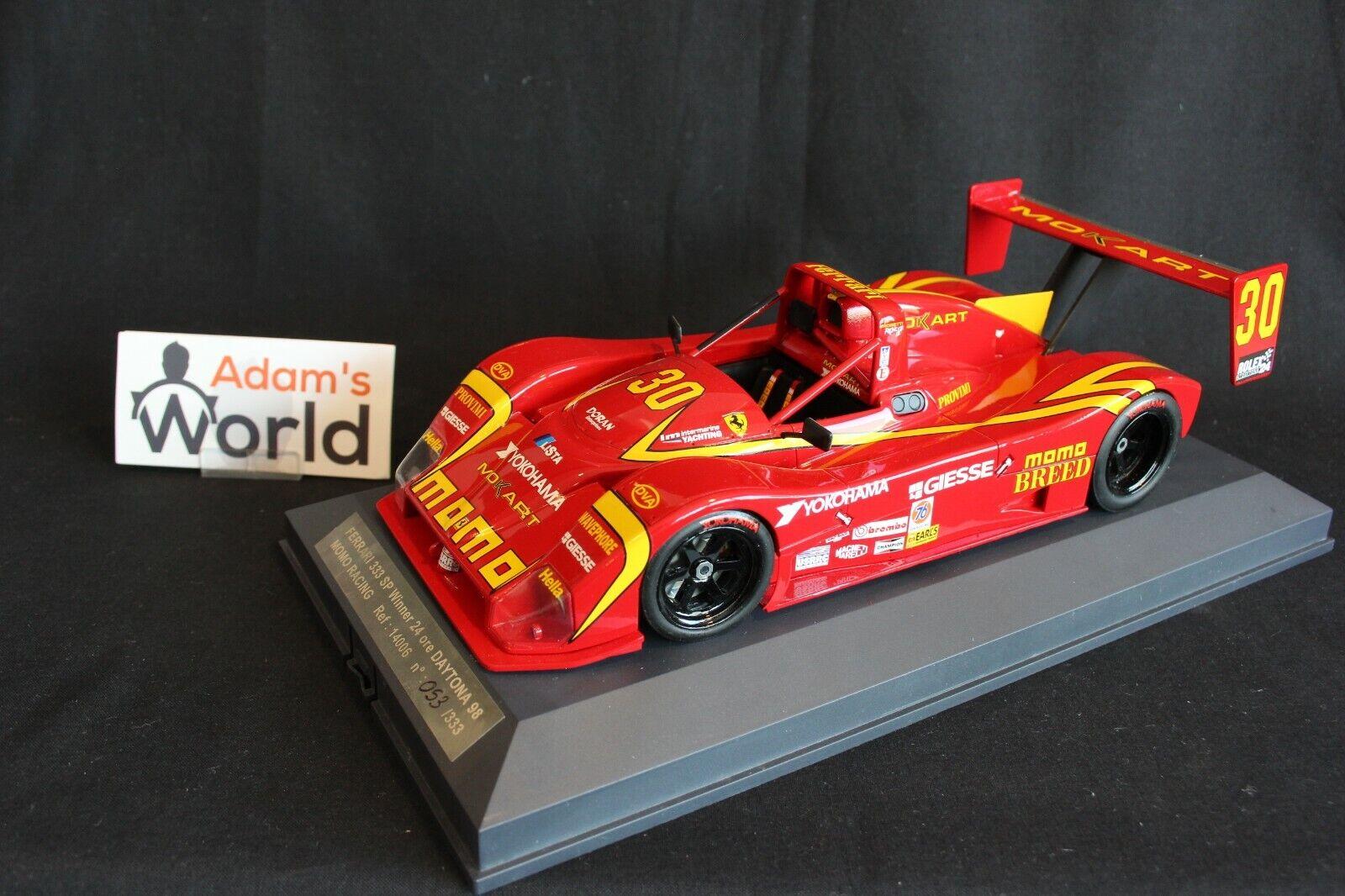 prima i clienti Momo Racing Ferrari 333 333 333 SP 1998 1 18  30 winners 24h Daytona (PJBB)  negozio fa acquisti e vendite
