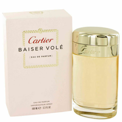 Baiser Vole By Cartier 3.3 / 3.4 Oz EDP Spray NIB Sealed Perfume For Women