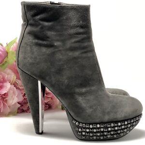 715287a2934426 SAM EDELMAN Shoes Ankle Boots Women s Size 10 M Graphite YALENE ...