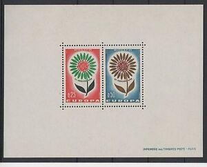 MONACO-YVERT-TELLIER-SPECIAL-MINIATURE-SHEET-6-034-EUROPA-1964-034-MNH-XF-N512A