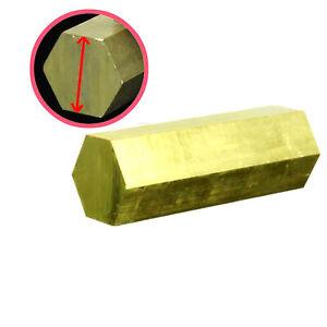 All Lengths 50mm Solid Brass Hexagon Bar