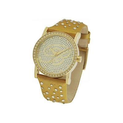 Orologio Donna BLUMARINE BM.3066LS Pelle Swarovski Grigio Nero Verde Gold