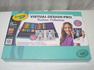 Crayola Virtual Design Pro Fashion Collection 71662219215 Ebay