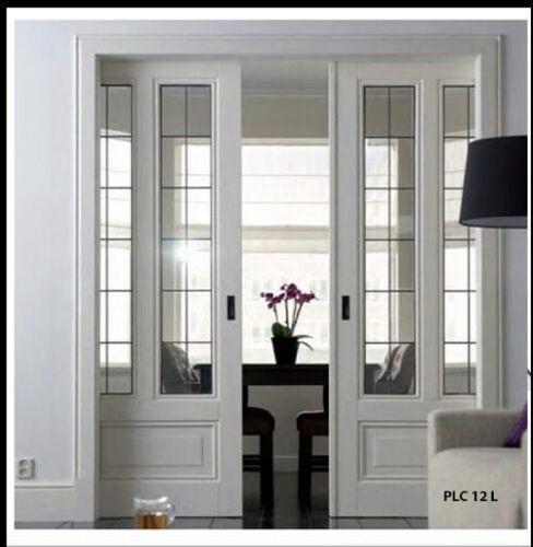 Stunning  Lead Glass Heritage design  Pocket Doors  PLC 12L