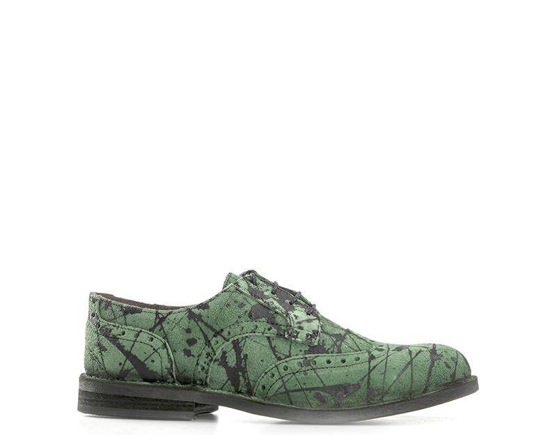 Schuhe FLY LONDON Mann VERDE/NERO Naturleder IDAL903FLY-VN