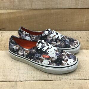 Vans Mens ASPCA TB9C Multicolor Sneakers Shoes Lace Up Low Top Size M 4.5 W 6