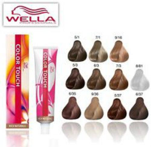 wella colour touch chart: Wella color touch hair colour medium golden sandy blonde 7 73 60ml