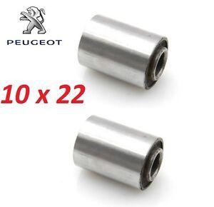 2 x SILENTBLOC SILENT BLOC MOBYLETTE PEUGEOT 102 103 104 10x22 MOTEUR FLEXIBLOC