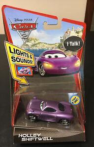 Disney Pixar Cars 2 Holley Shiftwell (Lights & Sounds) Rare