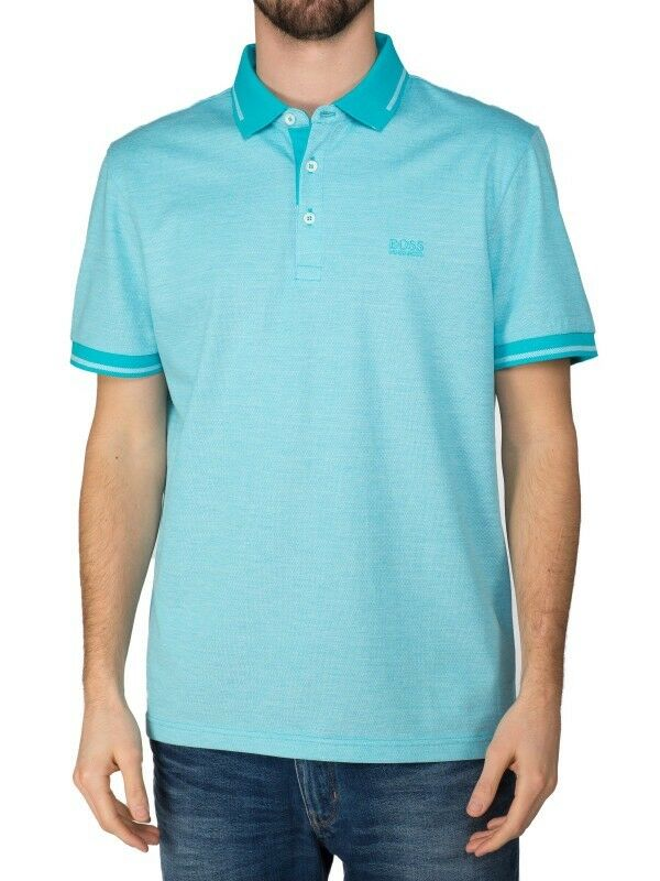 Hugo Boss C-Vito Open bluee Polo Shirt Men's XXL RRP.95