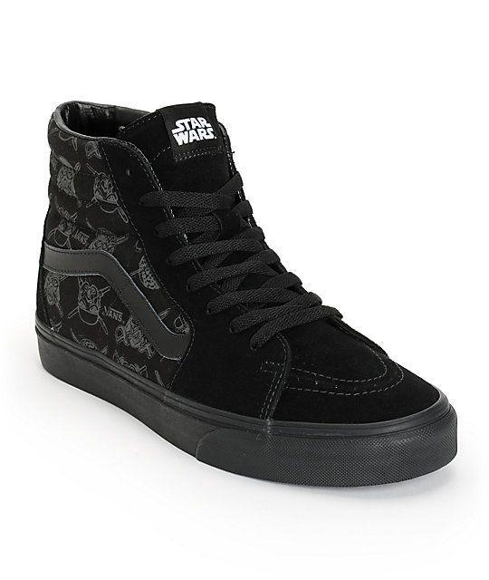 VANS x STAR WARS Sk8-Hi Mens Shoes (NEW) Darth Vader Storm DARK SIDE : ALL SIZES