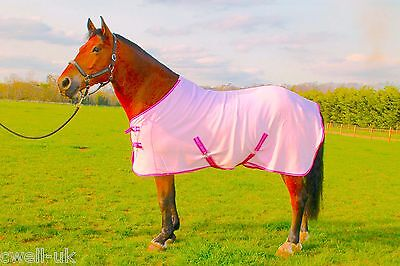 "NEW HORSE COB PONY SHOW TRAVEL FLEECE RUG 5'0-7'0"" stable cooler choice of color"