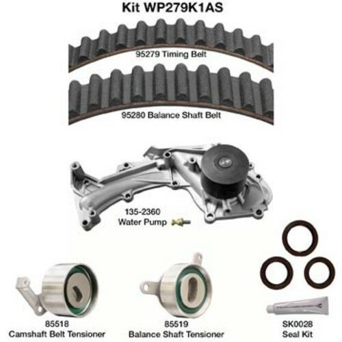Engine Timing Belt Kit With Water Pump-and Seals Dayco