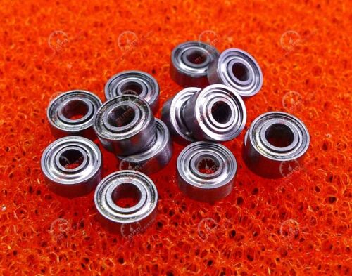 2x6x2.5 mm 20PCS MR62ZZ Metal Double Shielded Precision Ball Bearings 2*6*2.5