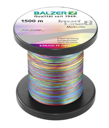 BALZER IRON LINE 8 NEU 0,30MM 34,8KG MULTICOLOR GRUNDPREIS 12,97 EUR//100M