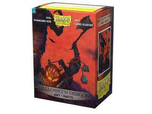 Dragon Shield Halloween Dragon Matte Card Protector Sleeves Limited Art 100ct