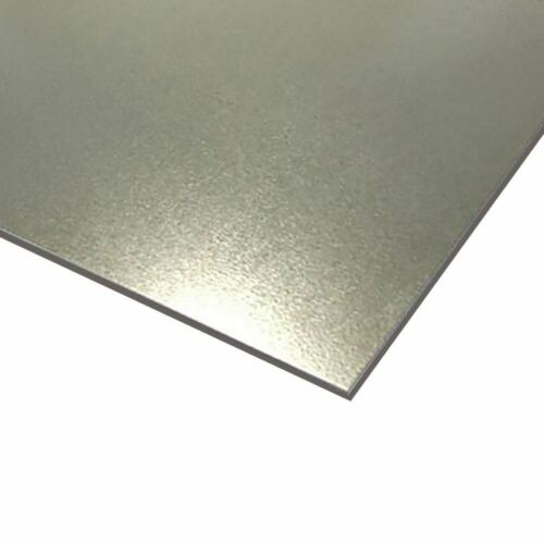 "G90 Galvanized Steel Sheet 0.064/"" x 24/"" x 48/"" 16 ga."