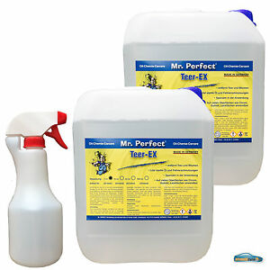 Bitumenentferner-Teerentferner-Teer-Entferner-2x5-L-leere-500ml-Spruehflasche