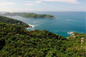 Terreno vista al mar en Brisas del Marques, Acapulco Diamante a mitad de PRECIO