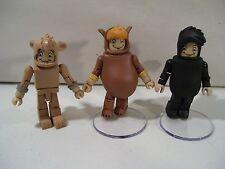 LOT OF 3 NWOB DISNEY PETER PAN LOST BOYS MINIMATES FIGURES NIBS TOOTLES CUBBY