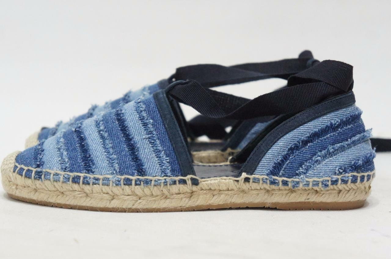 Jimmy Choo Dolphin Espadrille Jean Flat chaussures 36 5.5 5.5 5.5    475 6a865a