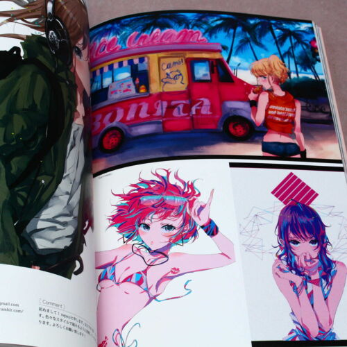 ANIME MANGA ARTBOOK NEW Girls Art Illustrator File
