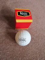 Seagrams 100 Pipers Scotch Golf Ball Boxed Collectible Golfing Free Ship