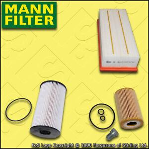 Kit-De-Servicio-Para-VW-Touran-1T3-1-6-2-0-TDI-Mann-Filtro-De-Combustible-Aire-Aceite-2010-2015
