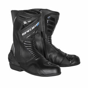 Spada-Aurora-Waterproof-Motorcycle-Motorbike-Bike-Boots-Black