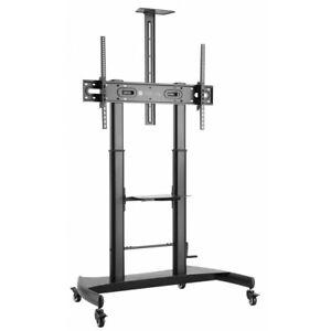 """Support Floor Steel Height Adjustable TV VESA 1000x600 60-100"""""""