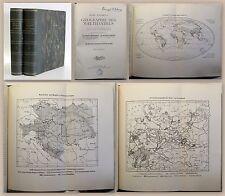 Andree's Geographie des Welthandels Bd. 1&2 1910/12 Wirtschaftsgeografie xz