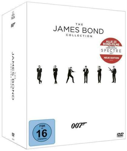1 von 1 - The James Bond Collection, 23 DVD (2015) Blu Ray +  Spectre extra!