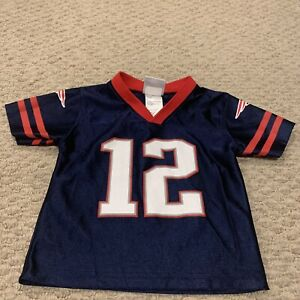 Details about Tom Brady New England Patriots Jersey NFL Football Size Toddler 2T
