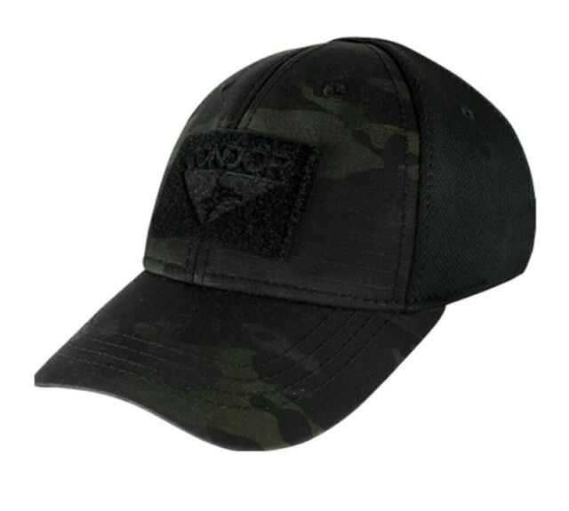4646d1923d187 Condor Black Multicam Flexfit Flex Tactical Operator cap hat Special Forces  L XL