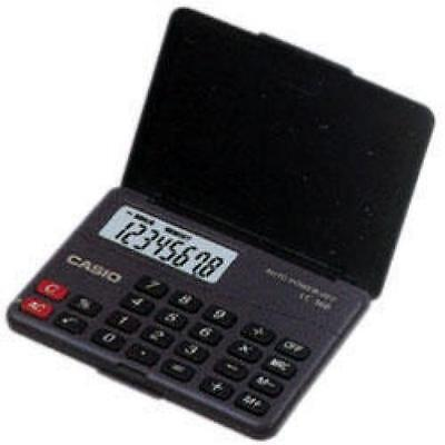 Casio LC160 8 Digit Pocket Calculator With Flip Case