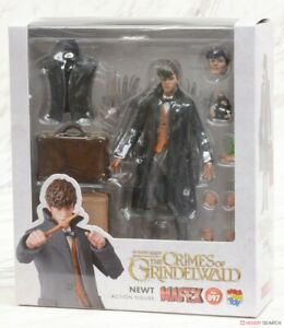 MAFEX-No-097-Fantastic-Beast-Newt-Height-approx-155mm-Painted-Action-Figure-MED