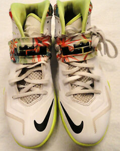 sports shoes 60035 a31e5 Image is loading Nike-Men-Sz-7-5-Lebron-Zoom-Soldier-