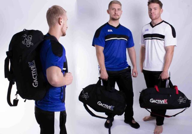 Holdall Sports 2in1 BackPack Duffle Gym Bag MMA Kickboxing Kit Martial Arts Bag