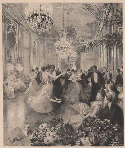 Victor-Gilbert-La-valse-Danse-Bal-Gravure-eau-forte-Henri-Toussaint-XIXe