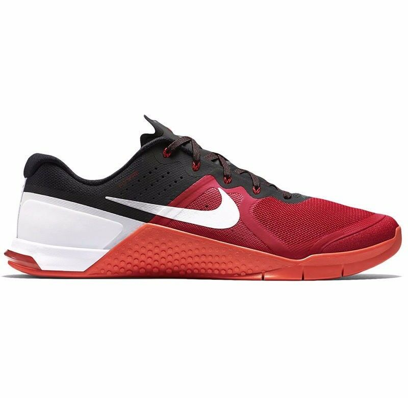 Nike Men's Metcon 2 Training Shoe, Red/White/Black, 819899 610, Size 10.0
