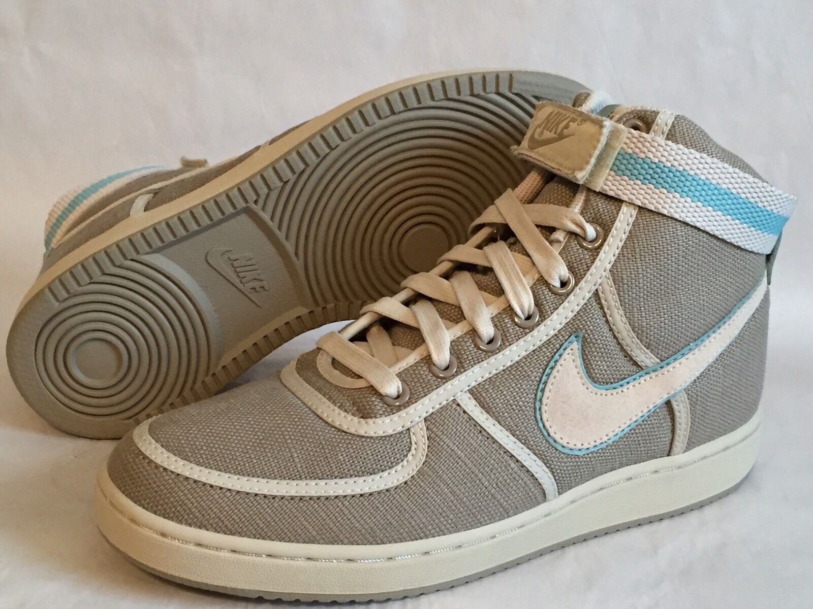 NIKE WOMEN'S VANDAL HIGH CANVAS Shoes 310067-211 Size 9.5 -  NEW!