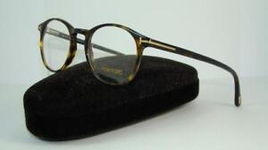 e018c1c250 TOM FORD TF 5294 052 Dark Havana Round Glasses Frames ...