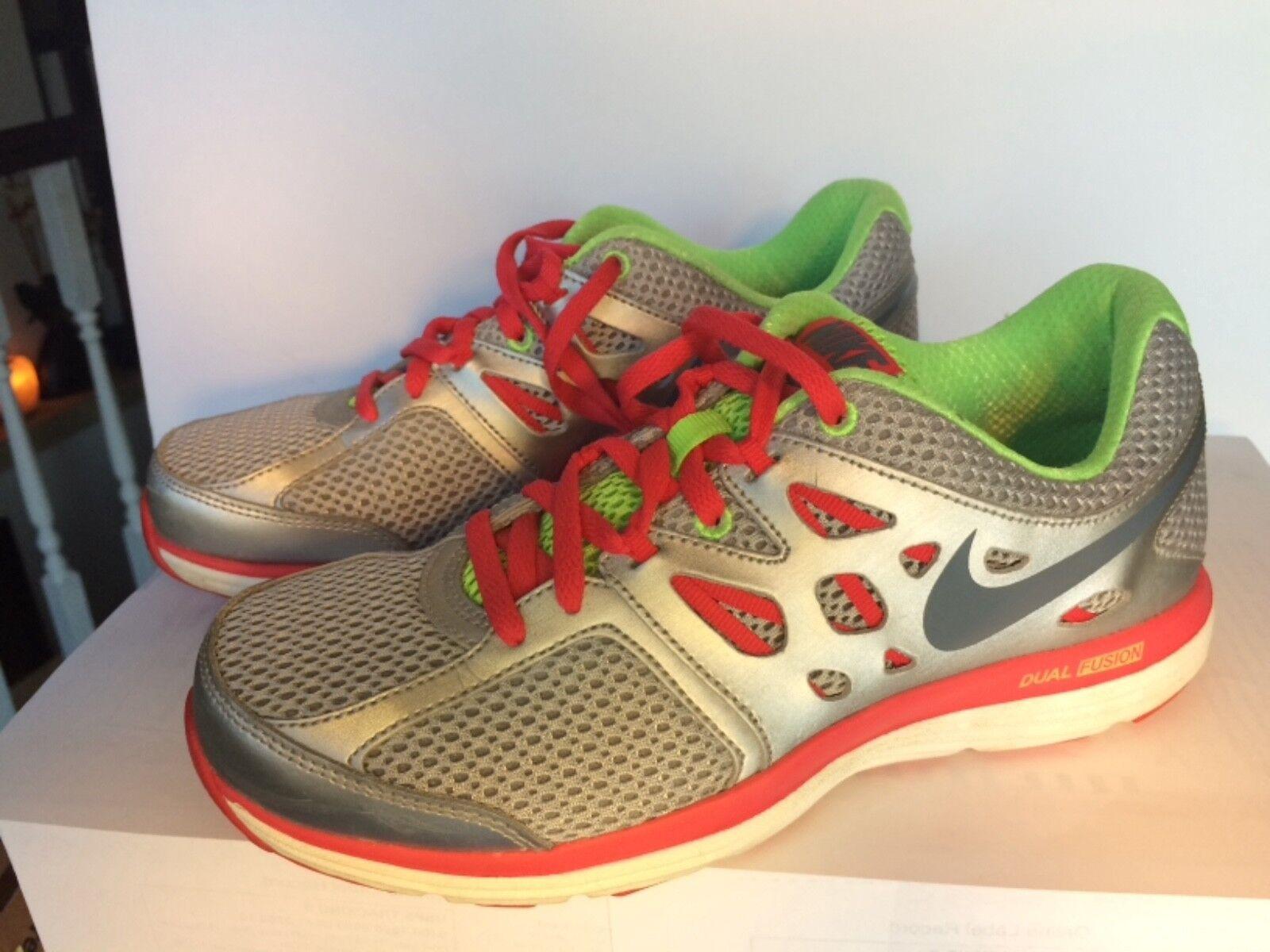 nike doppia fusione lite le scarpe scarpe scarpe da corsa sz 7 atletico scarpa d'argento della formazione | Prestazioni Affidabili  | Prezzo speciale  | Modalità moderna  | Sig/Sig Ra Scarpa  | Uomo/Donne Scarpa  | Sig/Sig Ra Scarpa  3294c0