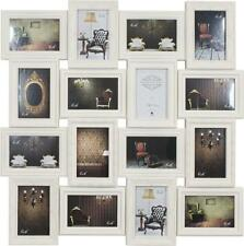 Large Cream 16 Picture Collage Multi Photo Frame Holds 16  4 x 6 Photos