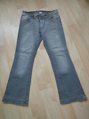 Bootcut Donna Jeans Stretch Pantaloni Taglia 40 Grigio Jeans Pantaloni-mostra Il Titolo Originale