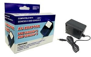 NEW-SEGA-GENESIS-MODEL-2-3-POWER-SUPPLY-AC-ADAPTER-034-FREE-SHIPPING-034