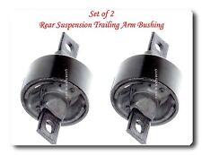 Set 2 Rear Suspension Trailing Arm Bushing Fits: INTEGRA CIVIC DEL SOL CR-V CRX