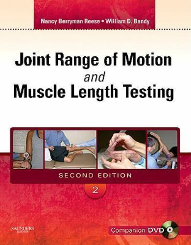 Joint Range of Motion and Muscle Length Testing~Nancy Reese~2nd Ed~LIKE NEW!