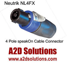 BAG-12   Neutrik NL4FX 4 Pole speakON Cable Connector - Female